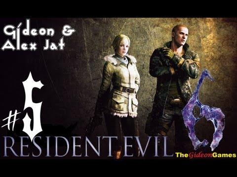 Прохождение Resident Evil 6: Джейк. Co-op: Gideon  Alex Jat — Часть 5 (Пациенты)