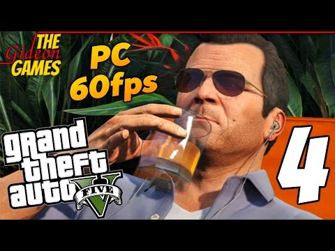 Прохождение GTA 5 с Русской озвучкой (Grand Theft Auto V)PС60fps — Часть 4 (На пенсии)