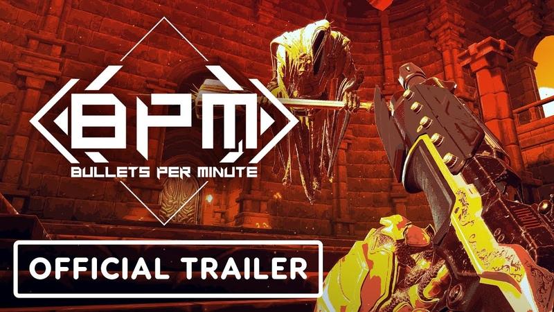 Объявлена дата выхода Bullets Per Minute — 15 сентября на PC и в 2021 на консоли.