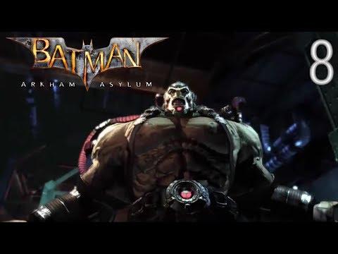 Прохождение Batman: Arkham Asylum: Спасаем Гордона и битва с Бэйном (ЧАСТЬ 8)