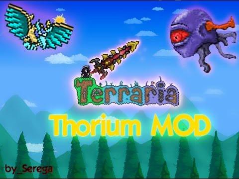 Lets Play Terraria Thorium Mod #9 DarkSteel Knight
