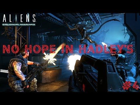 Aliens Colonial Marines #4 Безнадега в Надежде Хадли