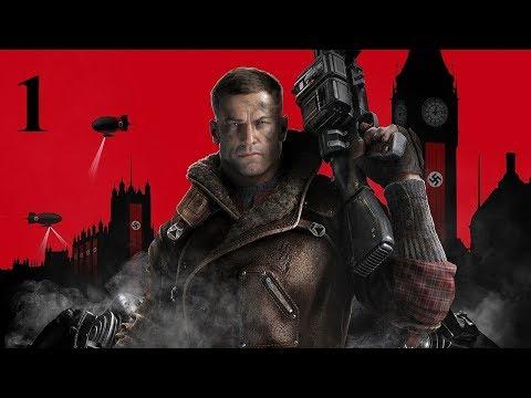 Прохождение Wolfenstein 2 The New Colossus 2017 1 серия