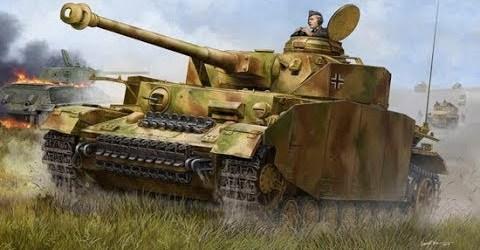 World of Tanks — хороший бой на Pz.Kpfw. IV Ausf. H (Чак Норис не устоял)