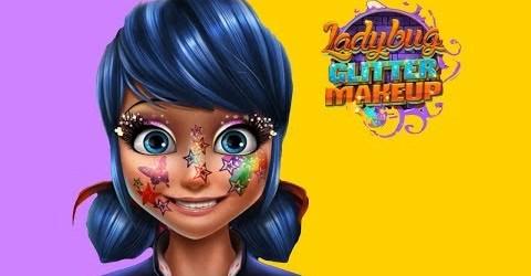 Ladybug Glittery Makeup/Леди Баг блестящий макияж