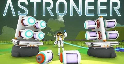 Astroneer — Некоторые трудности с маяком и машинками
