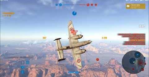 Медаль Кожедуба в игре World of Warplanes на французском самолете с турелью SE 100
