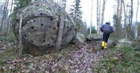 Рукотворный феномен на севере Карелии/KARELIA WASSILIAN KIWI.