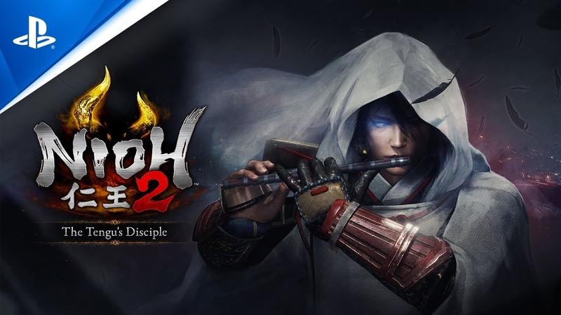Трейлер первого дополнения для Nioh 2 — «Ученик Тэнгу»
