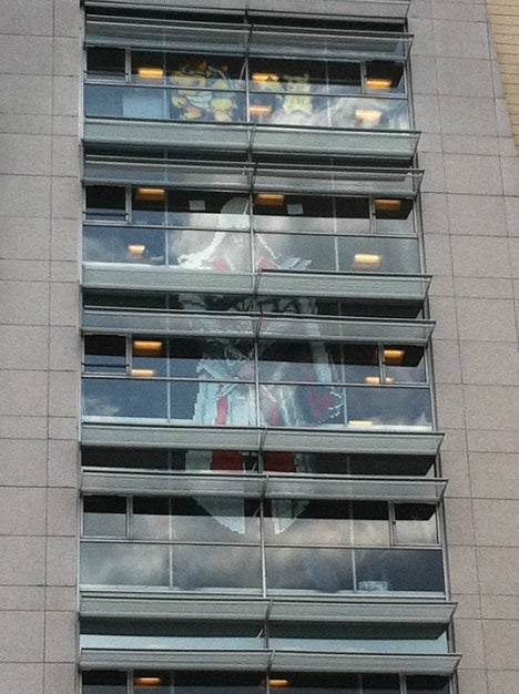 Assassins Creed in Post-It Notes