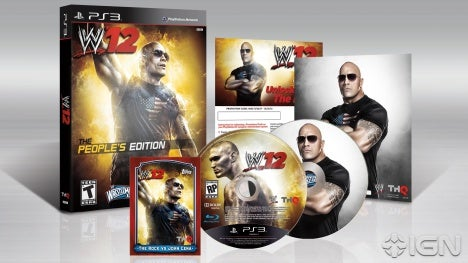 WWE 12 Collectors Edition The Rock IGN