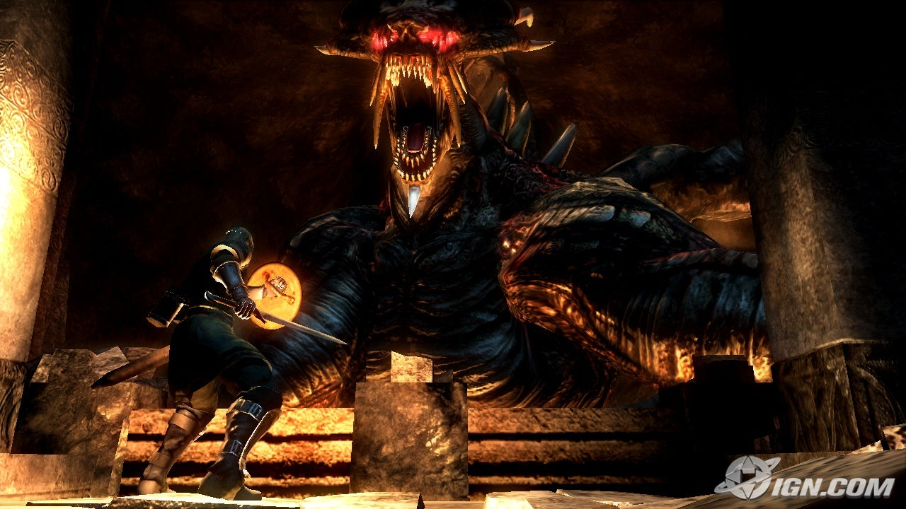 Screenshot of demon's souls