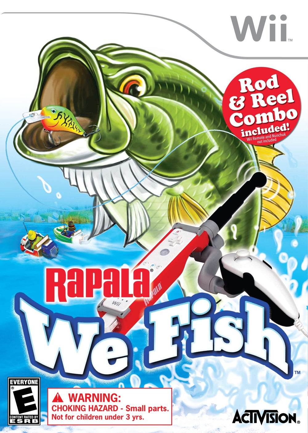 Activision Announces Rapala We Fish For Wii IGN