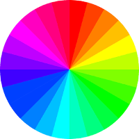 farbspektrum kontrast oled display schwarzwerte