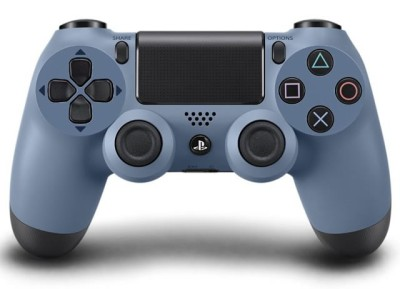Uncharted 4 dual shock grey blue