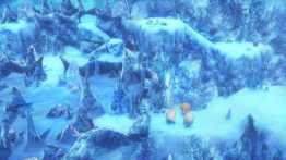 World of Final Fantasy -paysage de glace