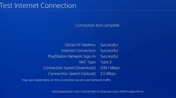 Check Internet Connection