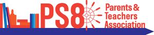 PS 8 PTA logo