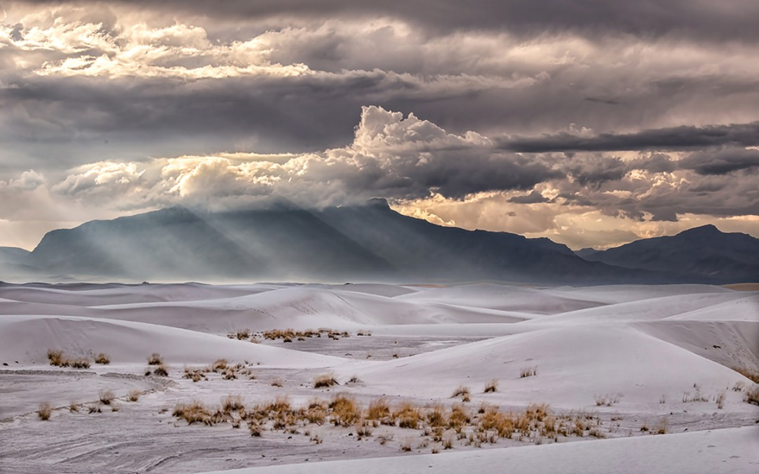 Storm Over White Sands