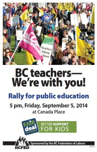 BCFed Poster