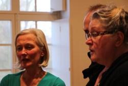 Marleen, Paul, Suzanne. Workshop Machaut Psallentes & Hendrik Vanden Abeele