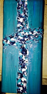 Aqua wood board