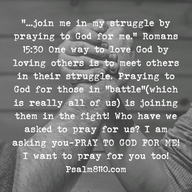 """PRAYER: Join The Struggle"""" August 2, 2015"""