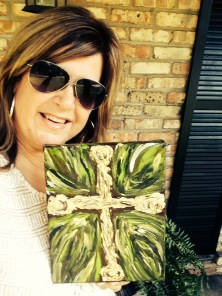 Cathy, her cross, and prayers for Costa Rica