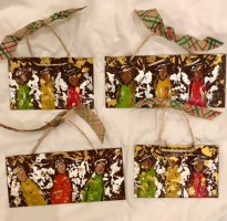 metal angel ornaments