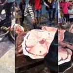 Βίντεο-σοκ: Ψαράδες, τεμαχίζουν ΖΩΝΤΑΝΟ φαλαινοκαρχαρία!