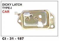Dicky Latch Assembly Maruti Car 800 CI-187