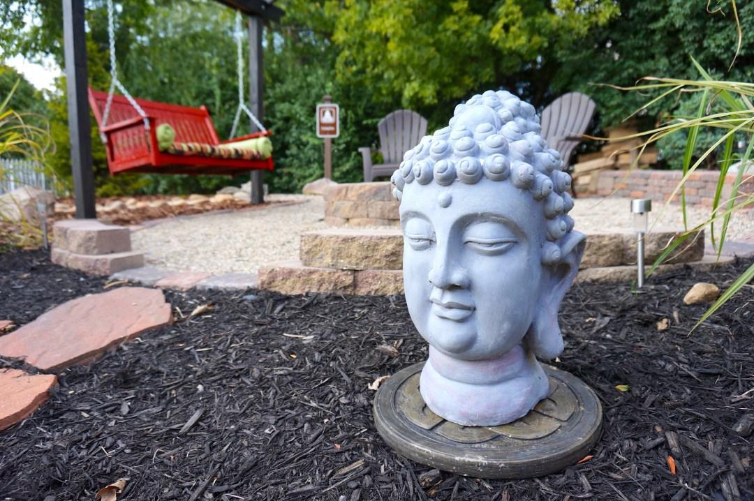 Suburban Backyard Mountain Retreat