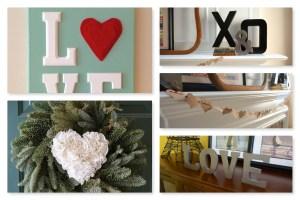 Valentine's Decor Collage