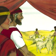 "Moses and Zipporah had a son whom Moses named Gershom because he said, ""God has made me a foreigner in a foreign land."""