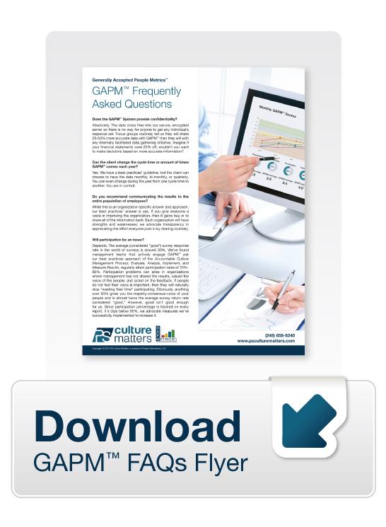GAPM FAQs Flyer