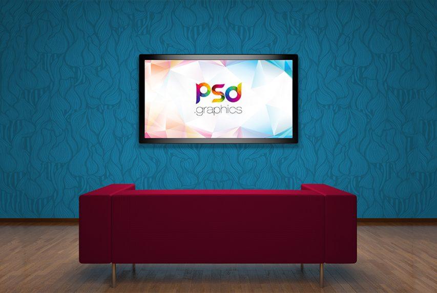 Tv Mockup Free Psd Psd Graphics