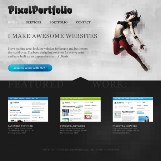 Design a Cool Pixelated Website Layout