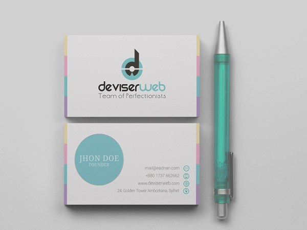 Clean_modern_Free_psd_business_card_download