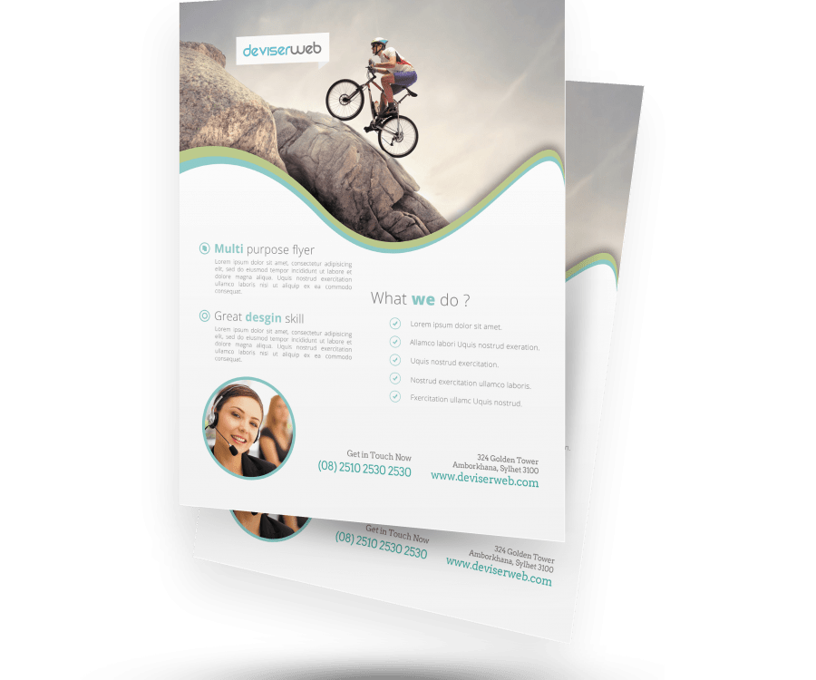 Free PSD Corporate Flyer Template – PSDboom