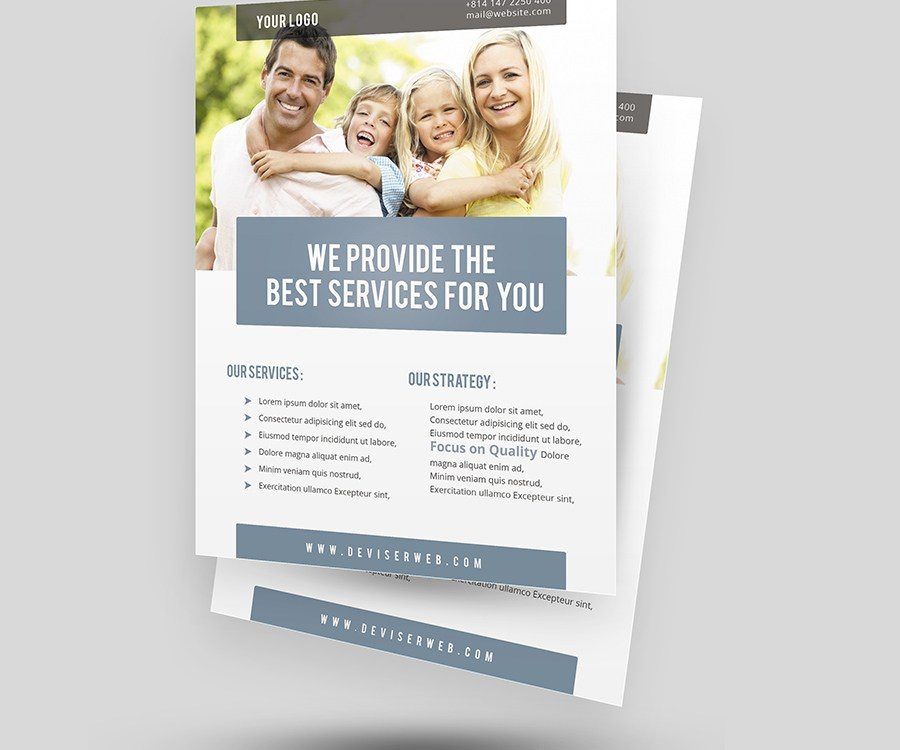 Free Corporate Flyer Templates