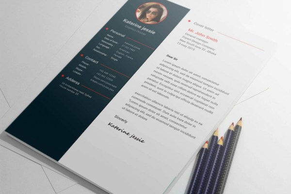 free-psd-resume-cv-template-download Cover letter