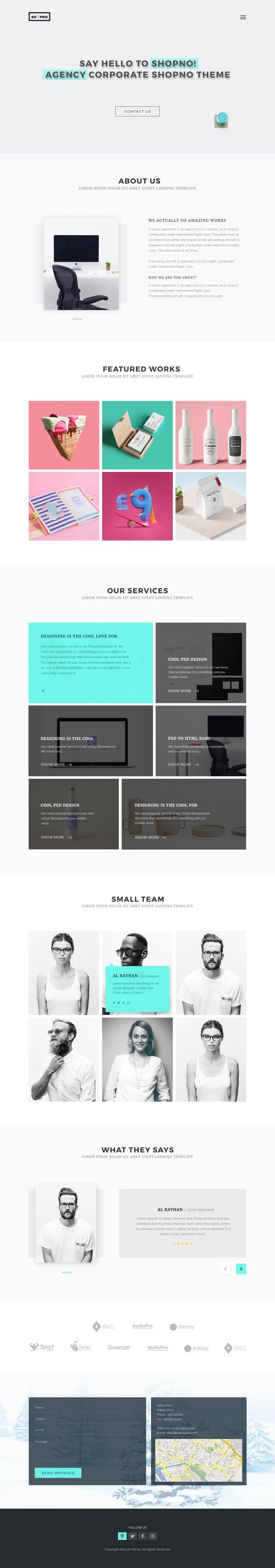 Shopno one page