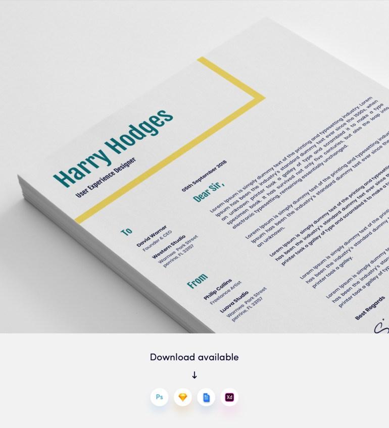 3. 3 Page Modern CV/Resume Template
