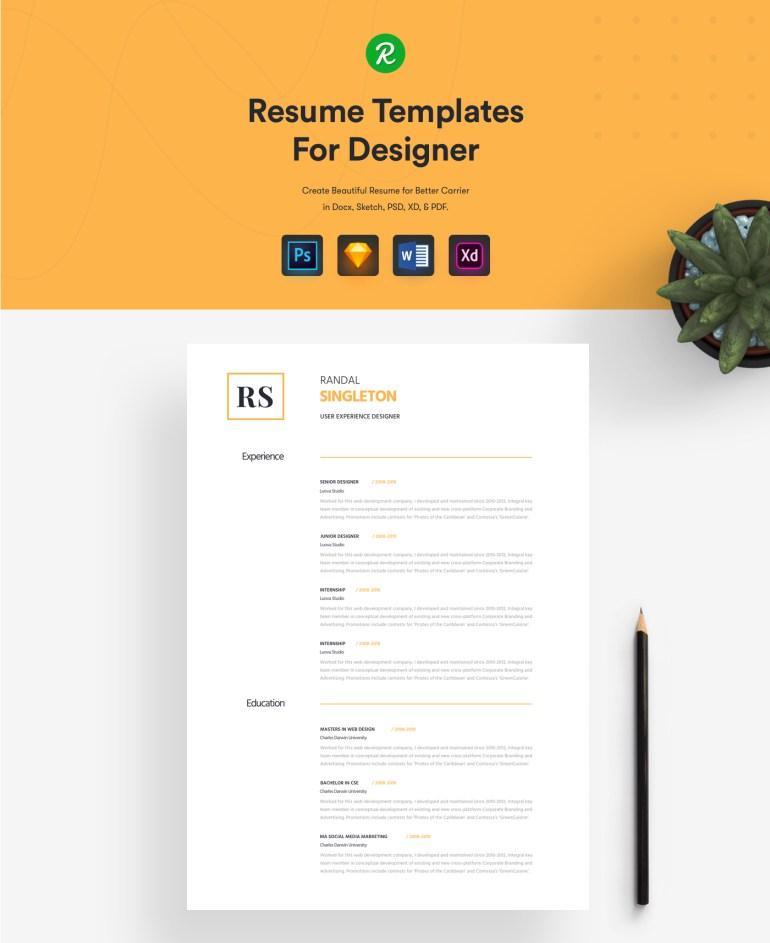 1. Free Corporate Resume Template