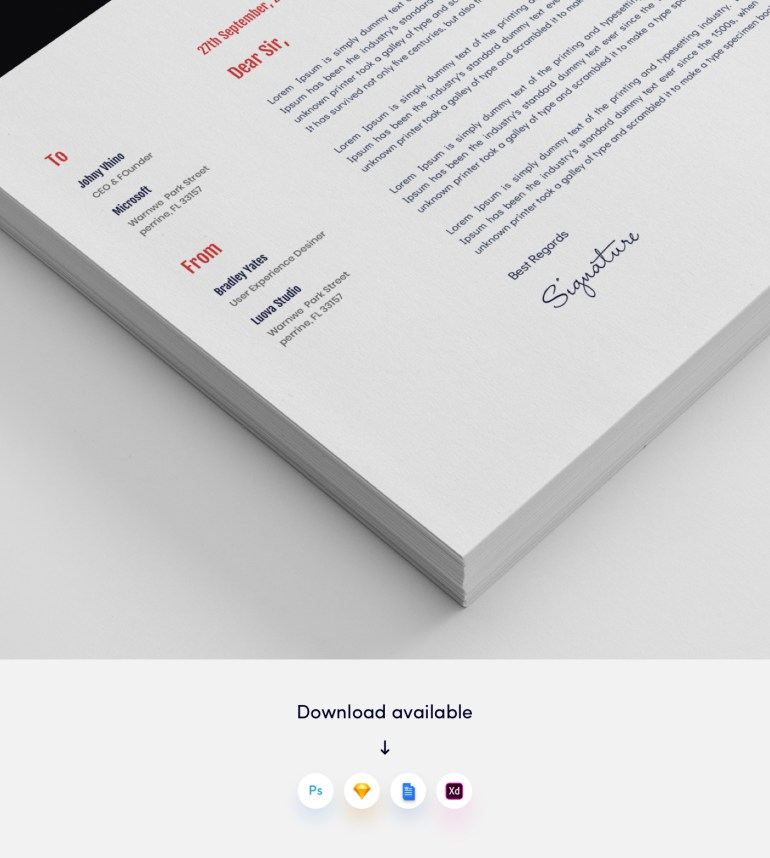 3. Architects CV/Resume Template