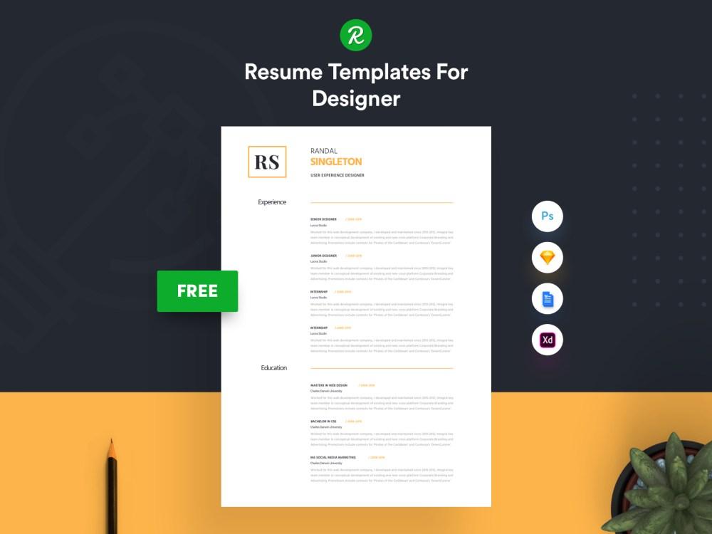 Free Corporate Resume Template