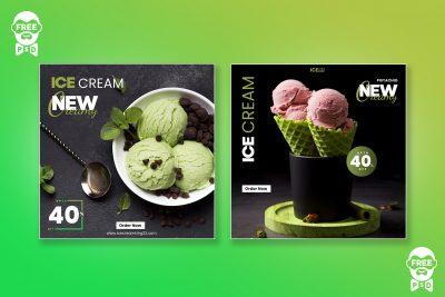 ice cream poster ideas psddaddy com