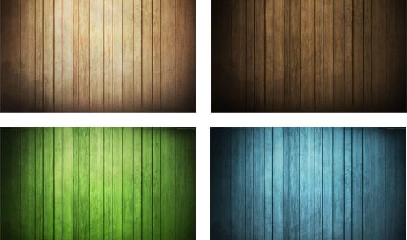 Free Wood Background Set