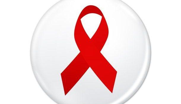 PSD World AIDS Day badge