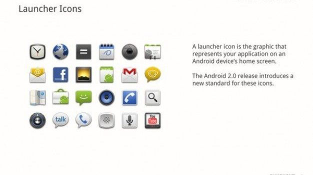 android   icon design psd layered file